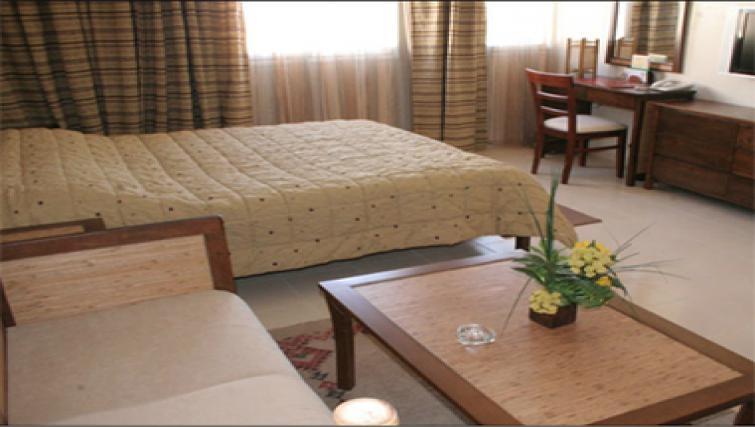 Comfortable bedroom in Casablanca Apparthotel