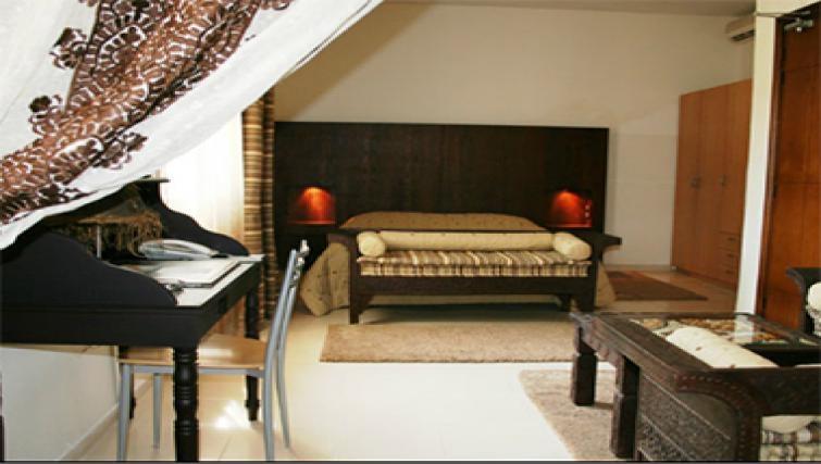 Attractive bedroom in Casablanca Apparthotel