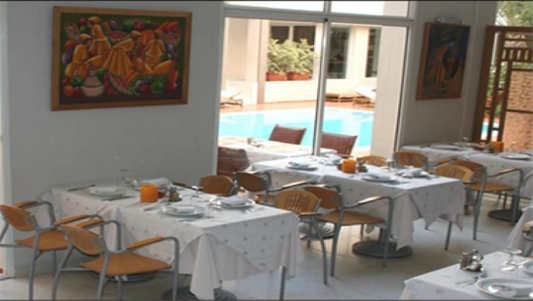 Charming restaurant in Casablanca Apparthotel
