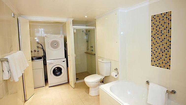 Gorgeous bathroom in York Apartments