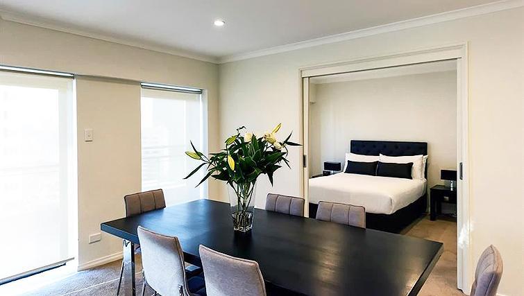 Cosy bedroom in York Apartments