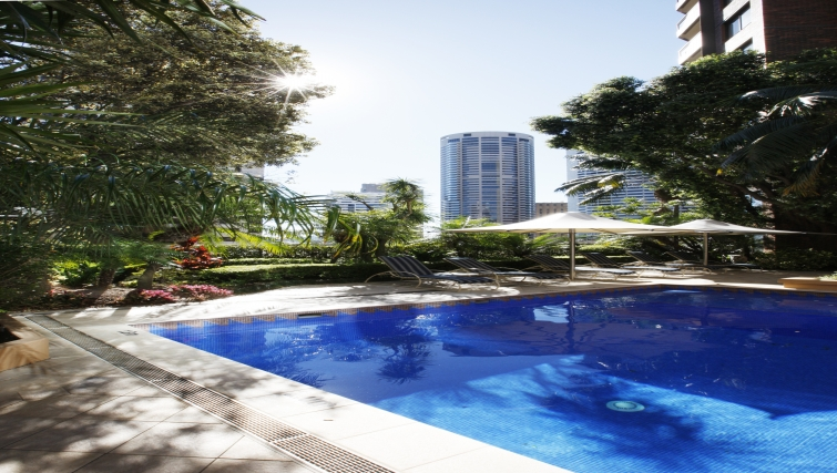 Stunning pool in York Apartments