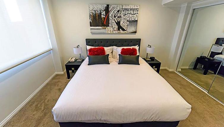 Delightful bedroom in York Apartments