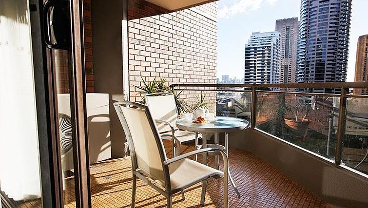 Balcony at York Apartments