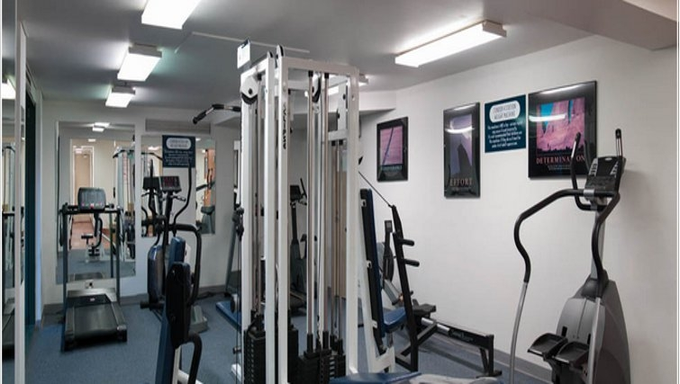 Ideal gym in Medina Serviced Apartments Canberra, James Court