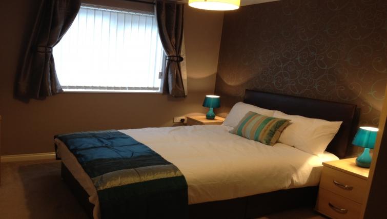 Delightful bedroom in Gladstone Mews Apartment
