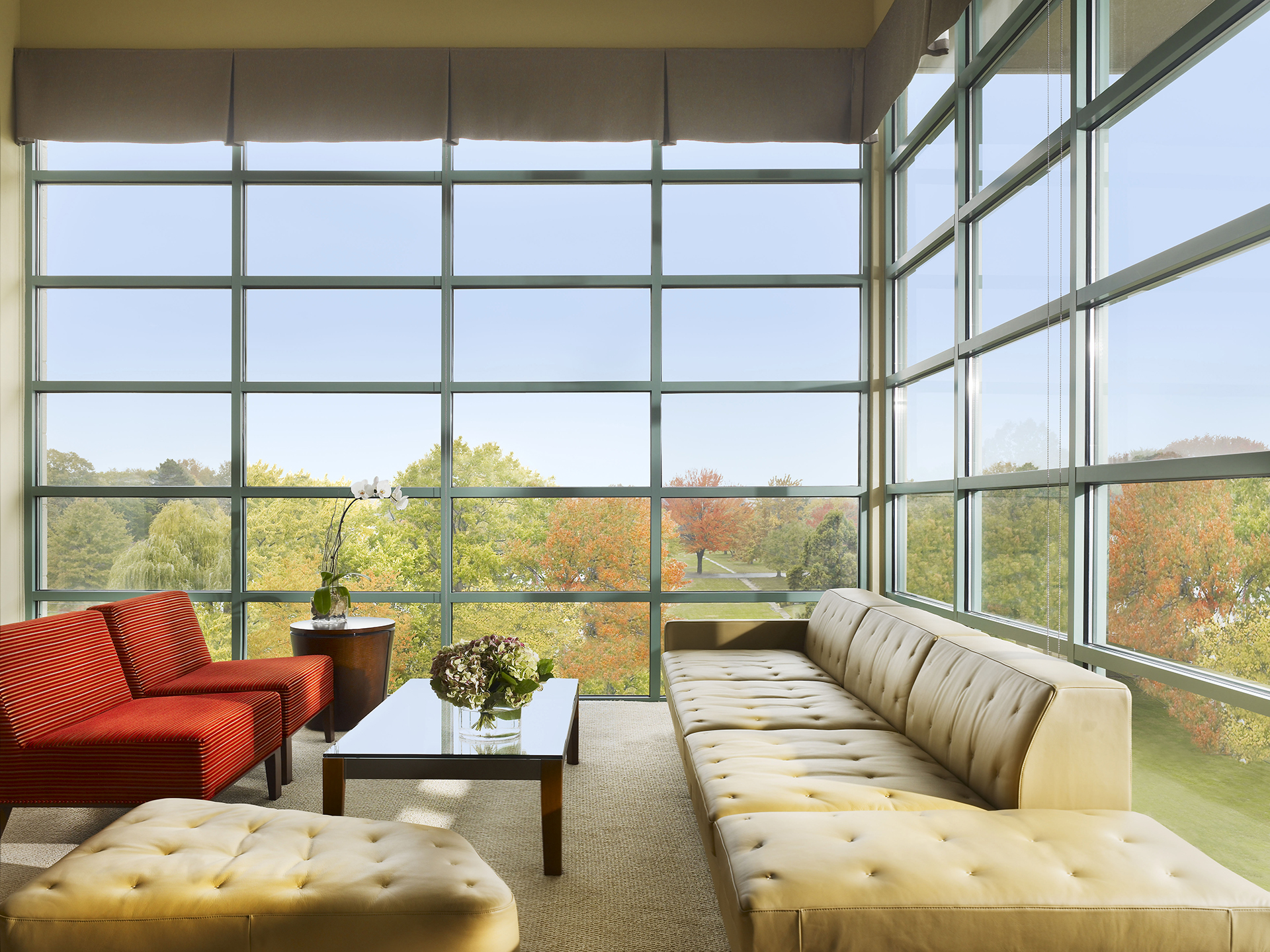 Bright communal area at AVE Clifton Apartments
