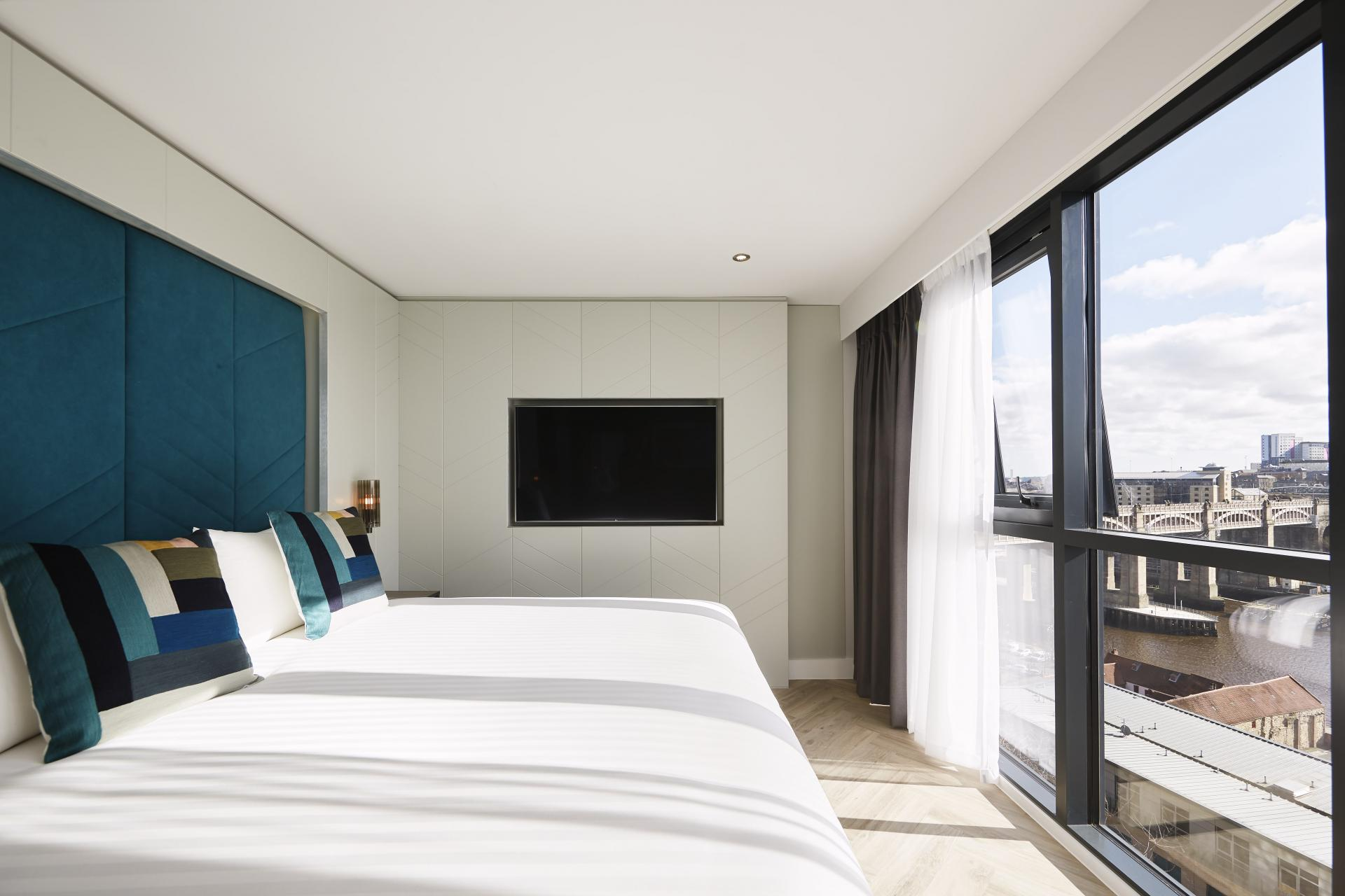 Amazing views at Roomzzz Newcastle City Apartments