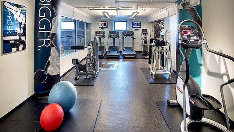 Practical gym in 71 Broadway Apartments