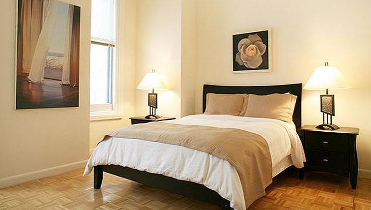 Delightful bedroom in 71 Broadway Apartments