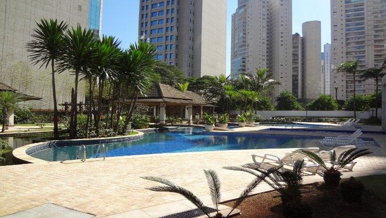 Gorgeous pool in Mandarim Apartments