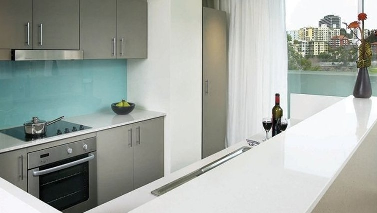 Stylish kitchen in Adina Apartment Hotel Perth