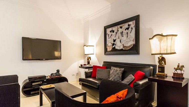 Cosy living area in Varieta Apartment