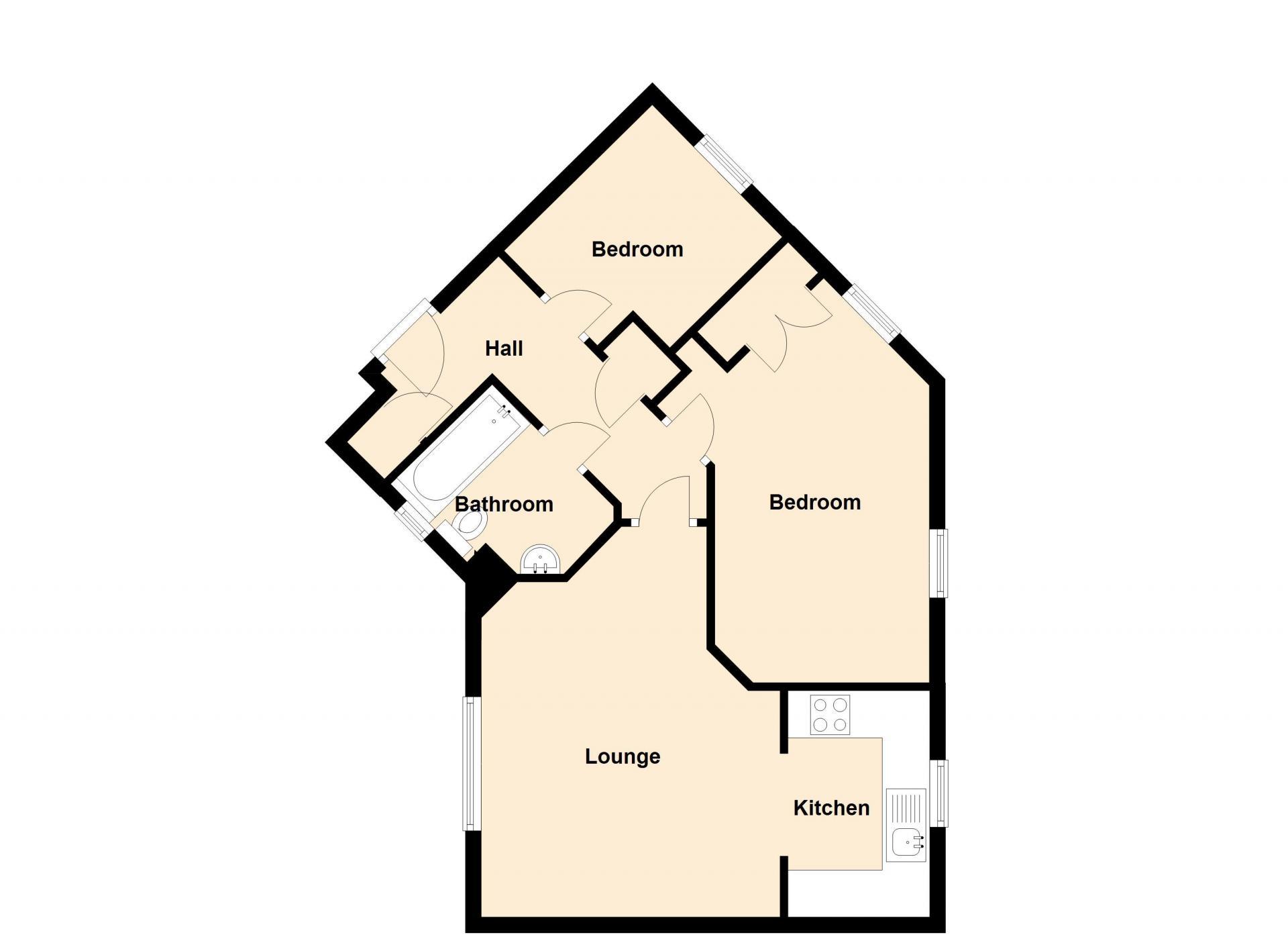 Deer Valley Apartment, Centre, Peterborough