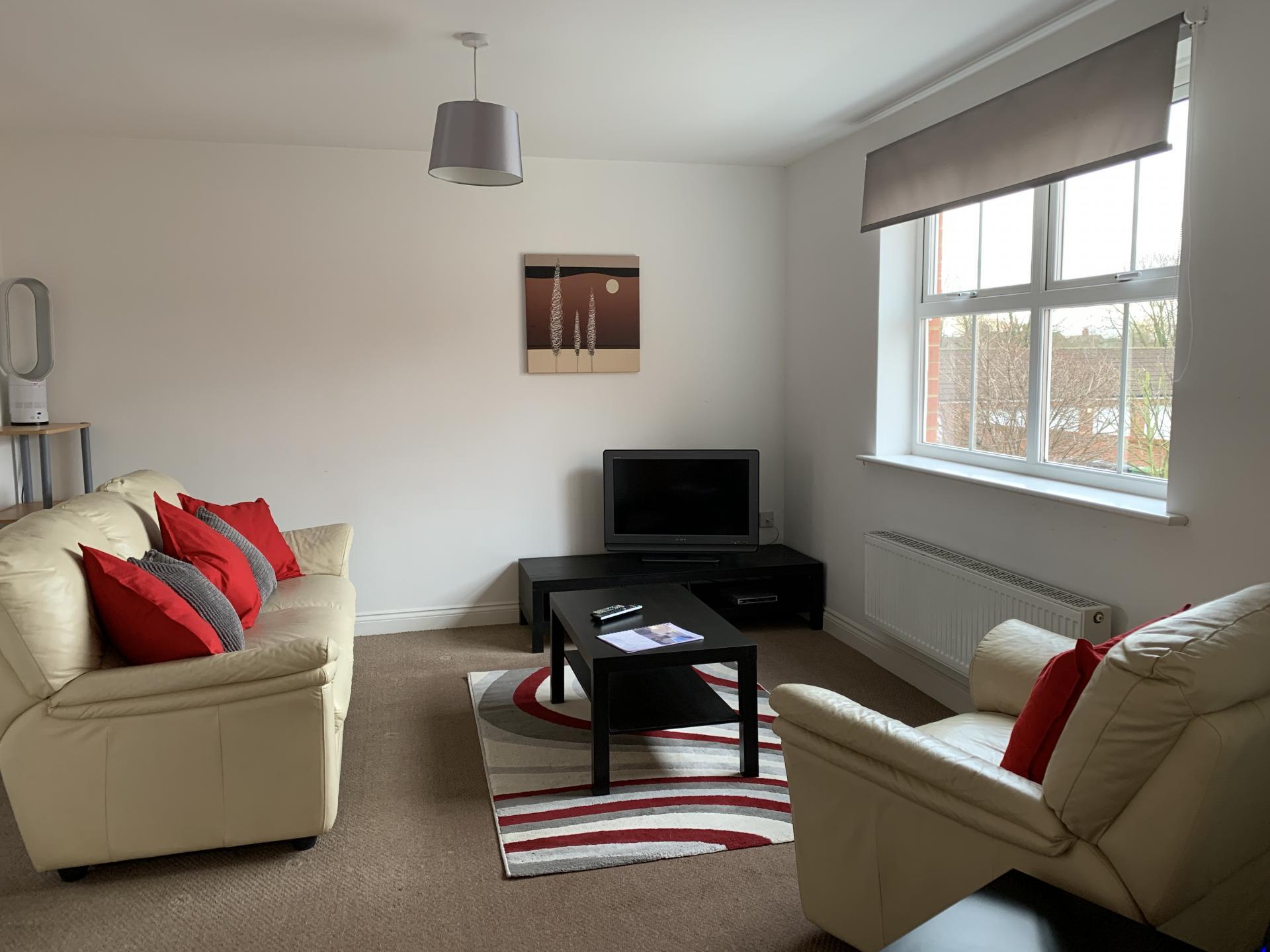 Sofa at Deer Valley Apartment, Centre, Peterborough