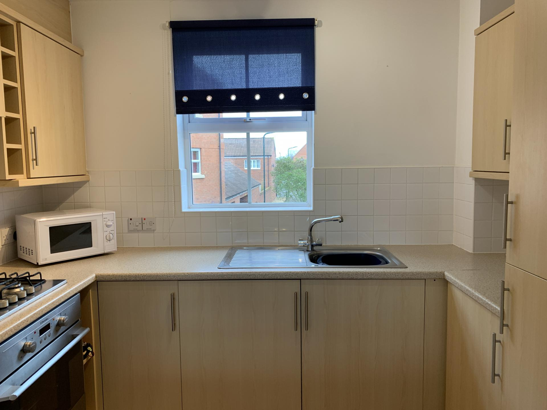Kitchen at Deer Valley Apartment, Centre, Peterborough