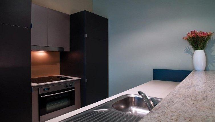 Stunning kitchen in Adina Apartment Hotel Adelaide Treasury