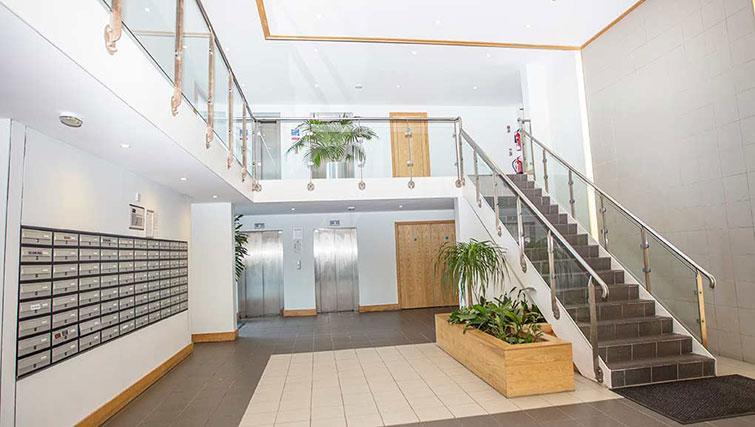 Lobby at Gasworks Apartment