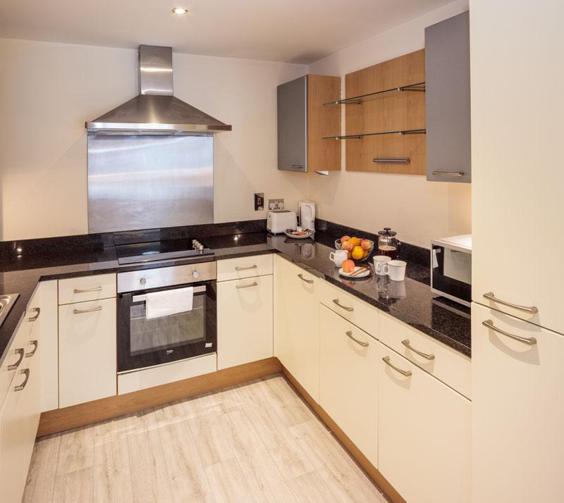 Kitchen in Gasworks Apartments