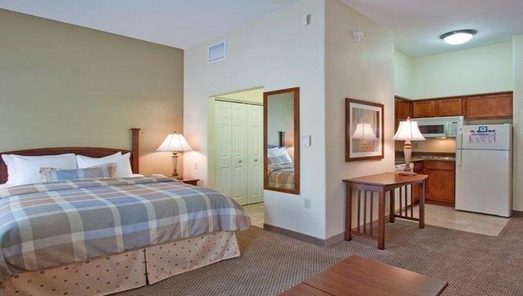 Comfortable bedroom in Staybridge Suites Phoenix-Glendale