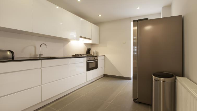 Fully equipped kitchen at Wieger Apartment, Amsterdam