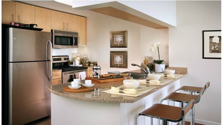 Gorgeous kitchen in Grove Pointe Apartments
