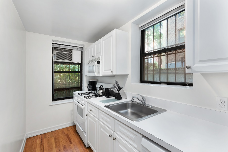 Kitchen at 155 West 74th Street Apartment