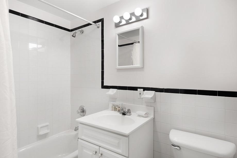 Bathroom at 155 West 74th Street Apartment