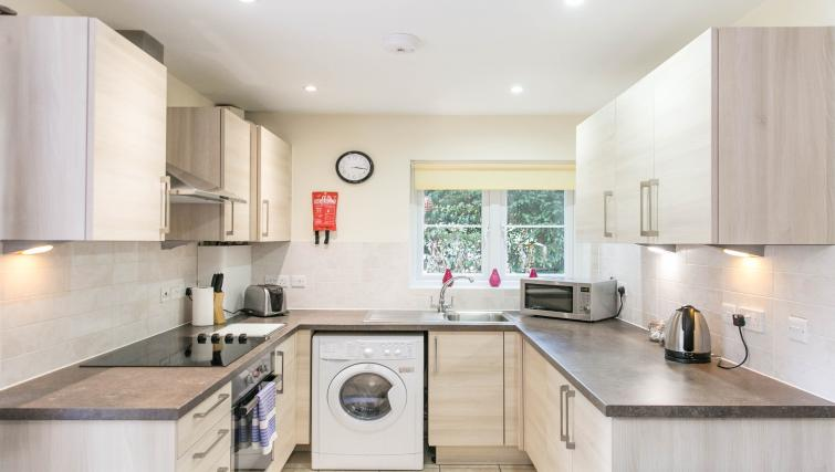 Modern kitchen at The Old Rectory Apartments