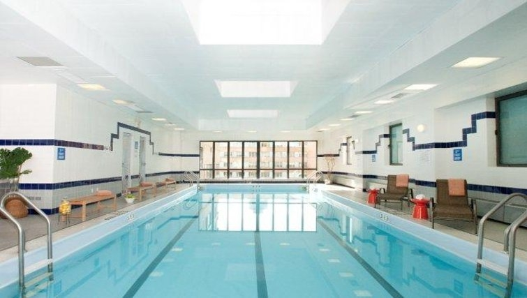Fantastic pool in South Park Tower Apartments