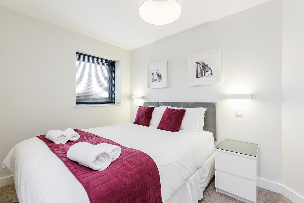 Bedroom at New Manor House Apartments, Centre, Bracknell