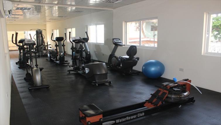 Gym at Milverton Apartments