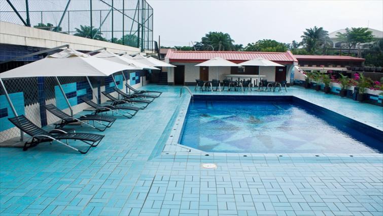 Pool at Milverton Apartments