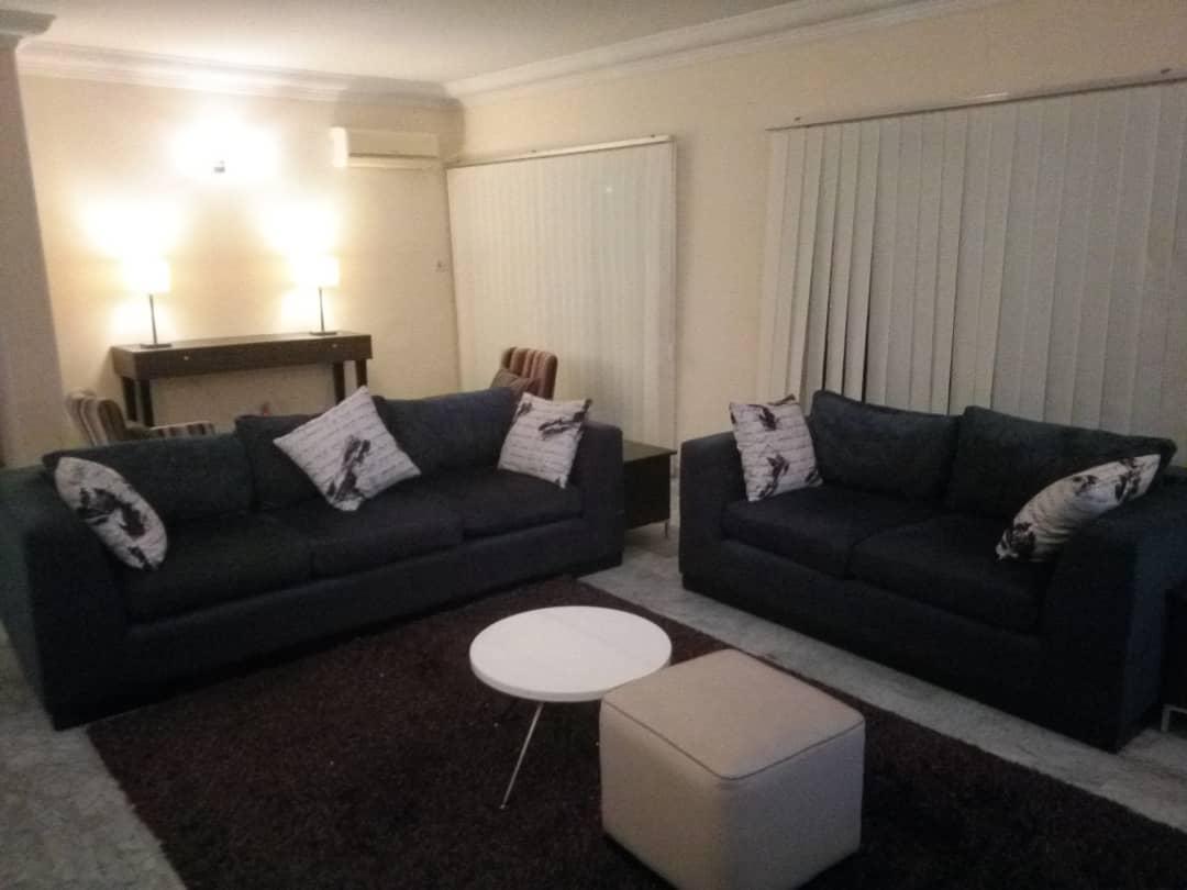 Living area at Milverton Apartments
