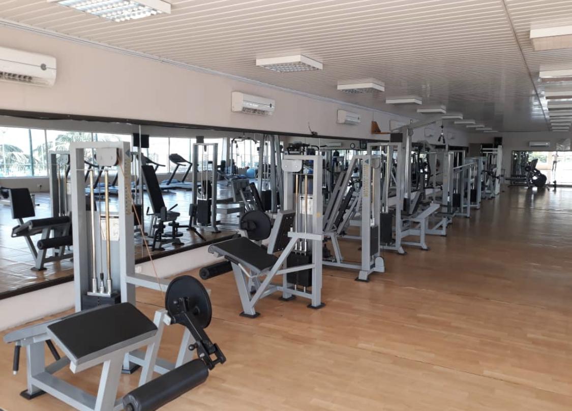 Gym at Banana Island Apartments