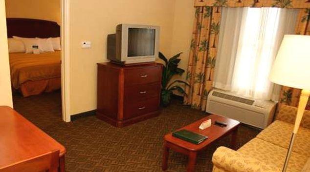 Practical living area in Homewood Suites Daytona Beach Speedway Airport