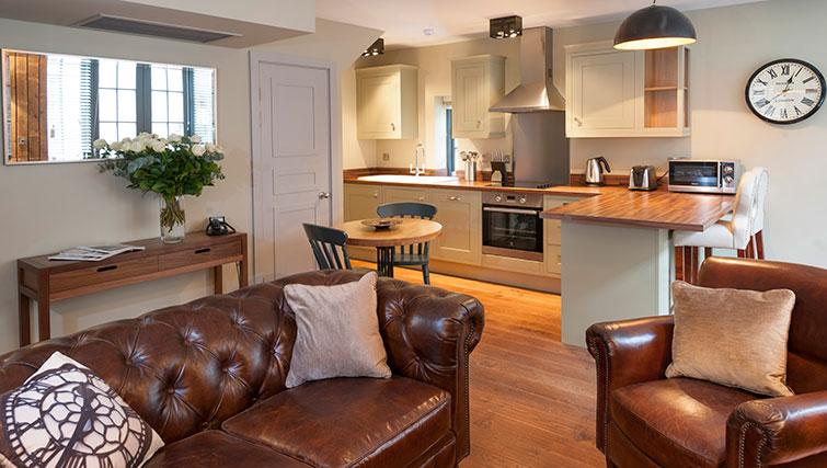 Ideal kitchen in Micklegate Apartments