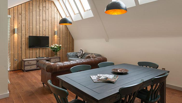 Dining area in Micklegate Apartments