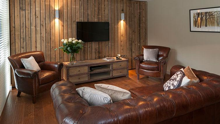Charming living area in Micklegate Apartments