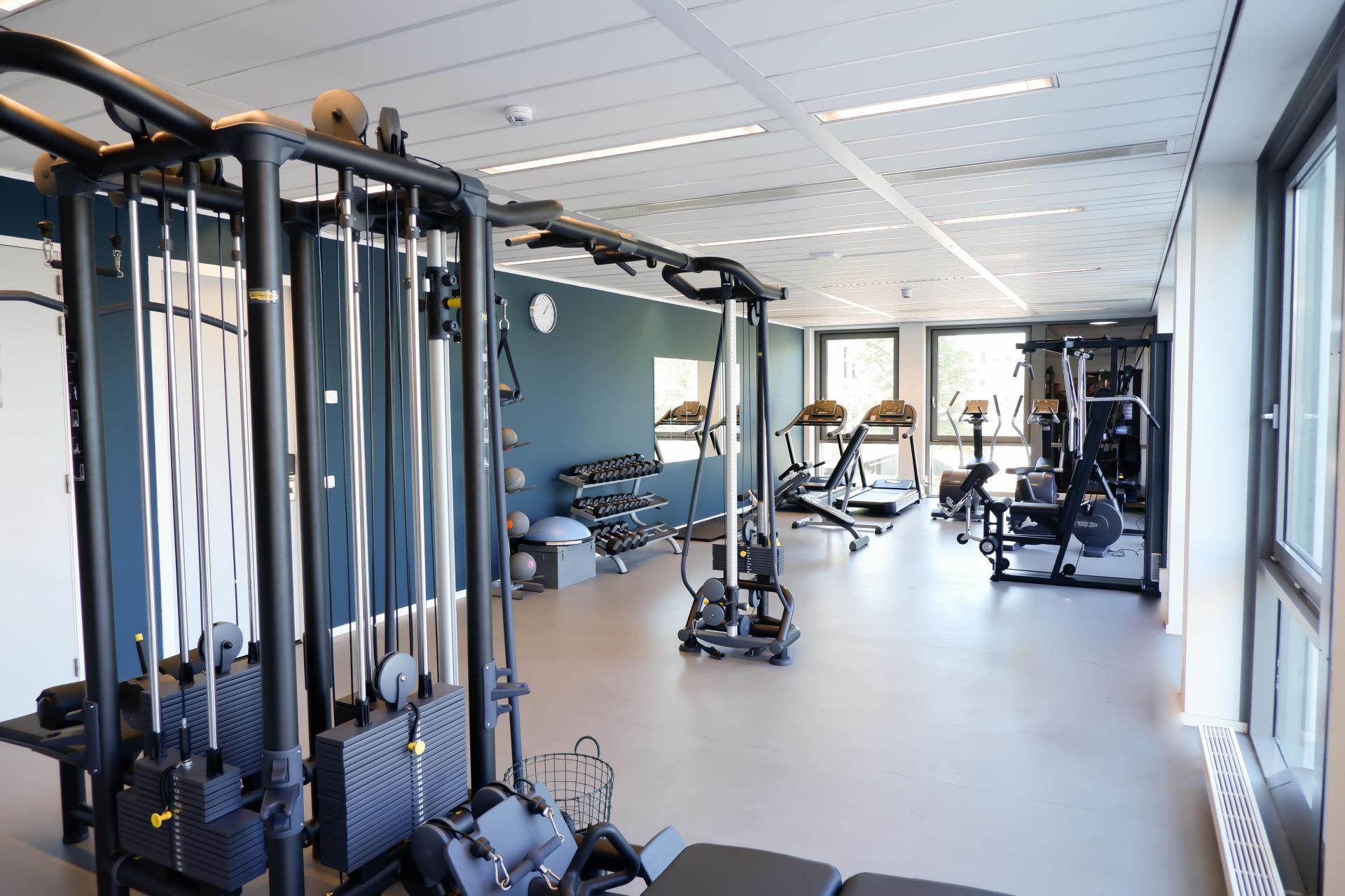 Gym at Amsterdam ID Aparthotel, Sloterdijk, Amsterdam