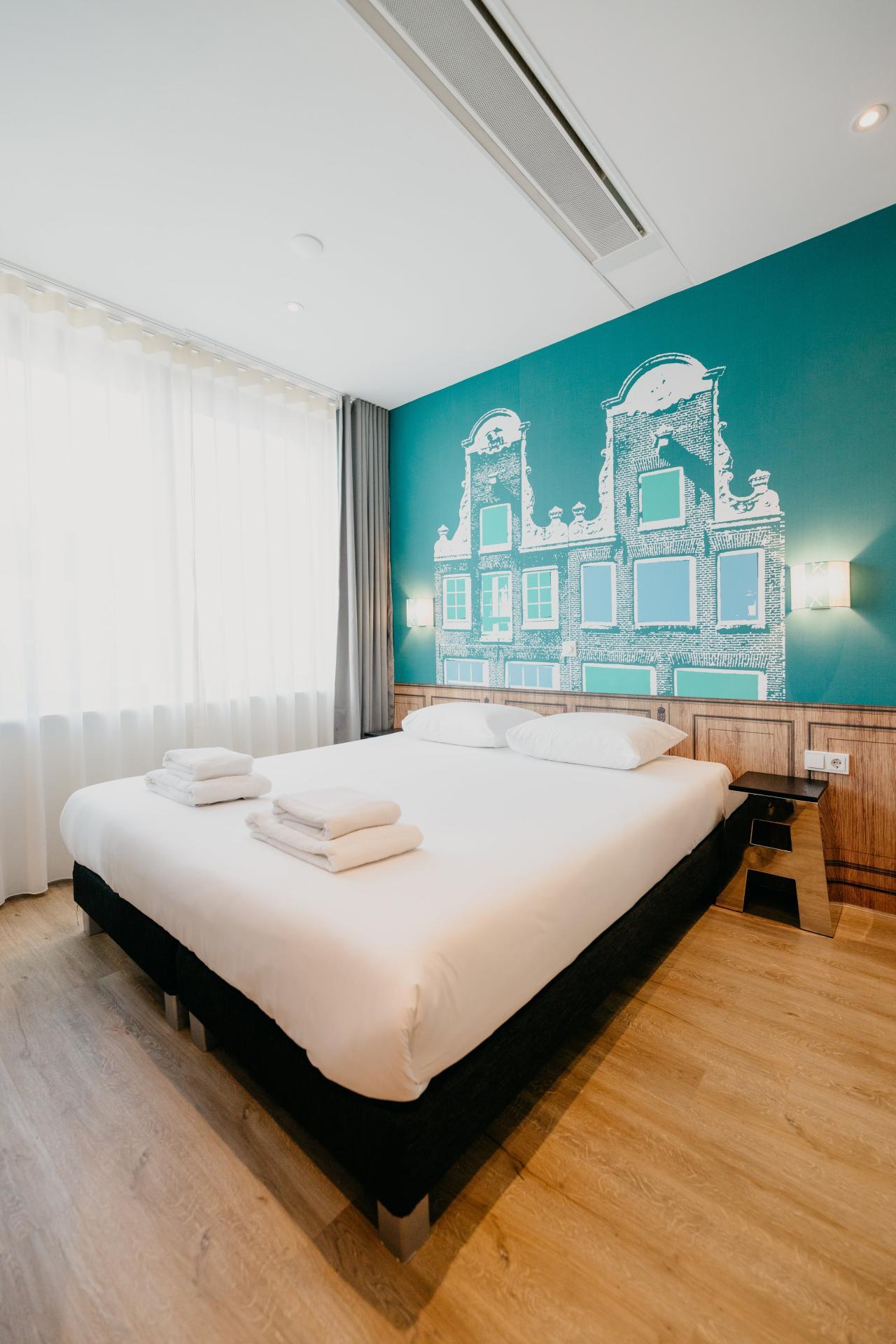 Bedroom at Amsterdam ID Aparthotel, Sloterdijk, Amsterdam