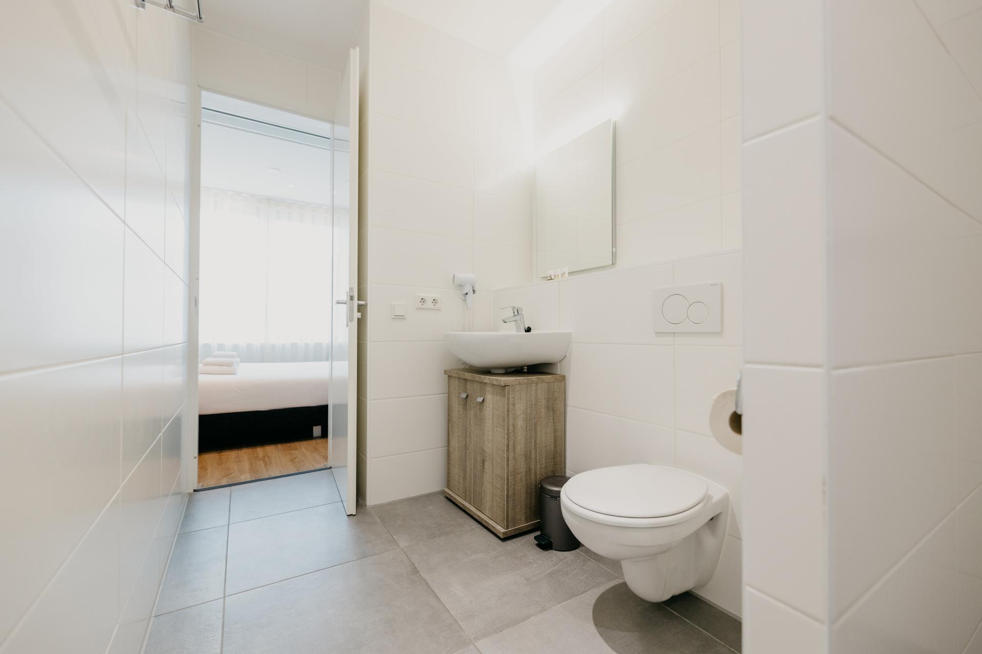 WC at Amsterdam ID Aparthotel, Sloterdijk, Amsterdam