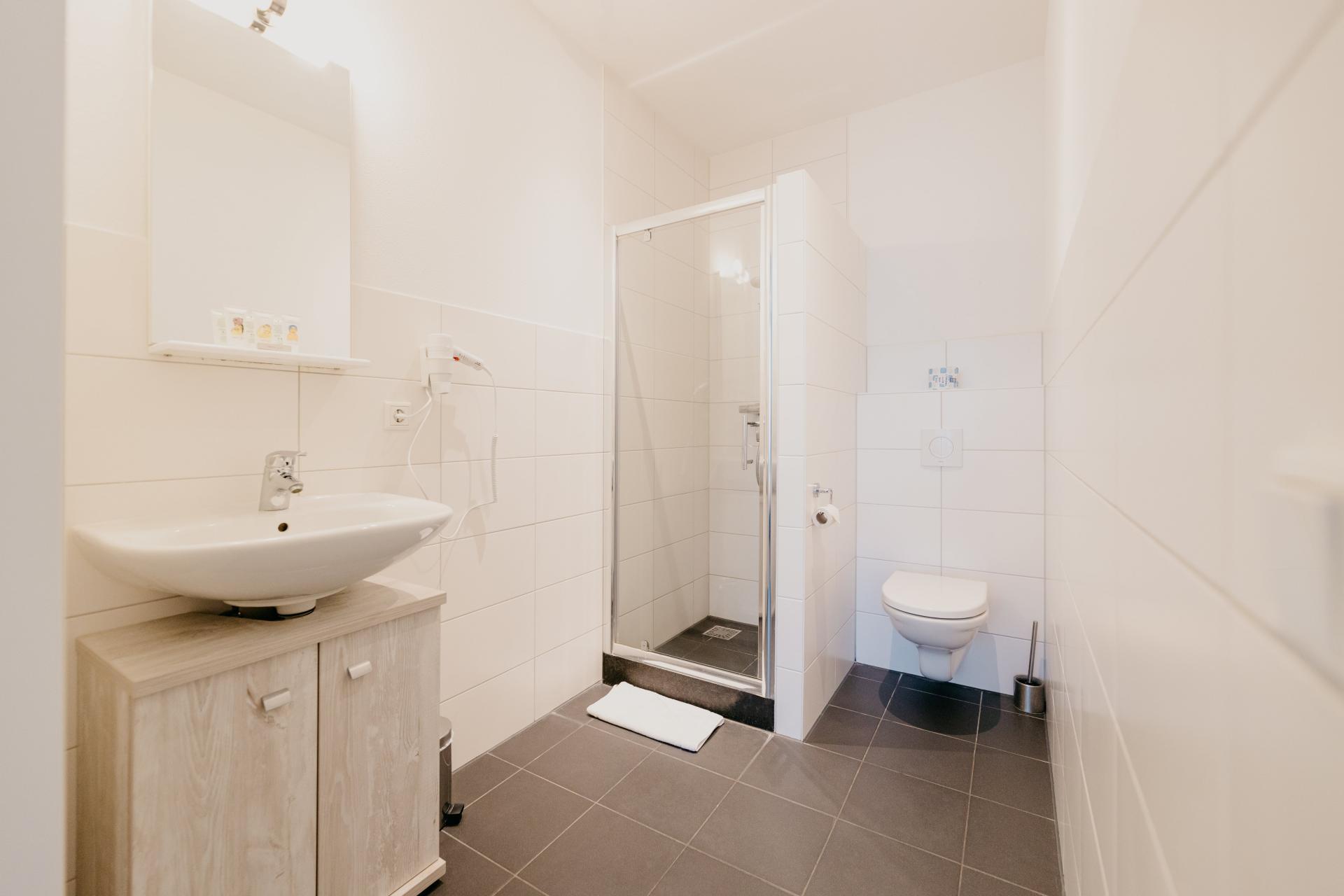 Bathroom at Amsterdam ID Aparthotel, Sloterdijk, Amsterdam