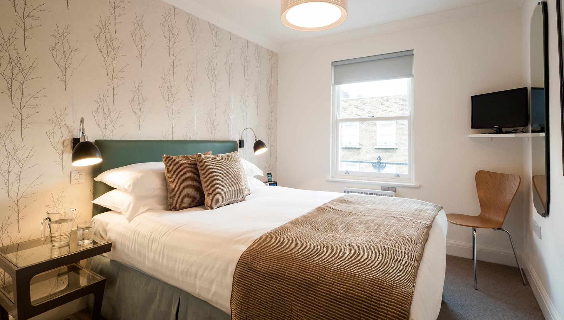Bedroom at Chiltern Street Apartments