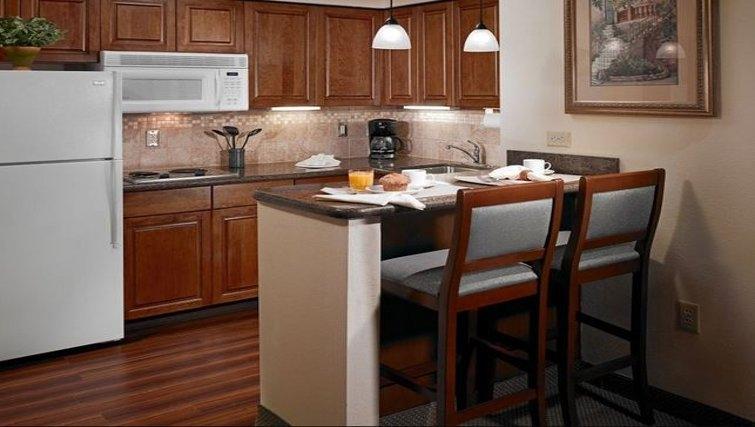 Ideal kitchen in Staybridge Suites Oklahoma City
