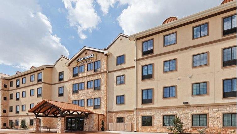 Grand exterior of Staybridge Suites Oklahoma City