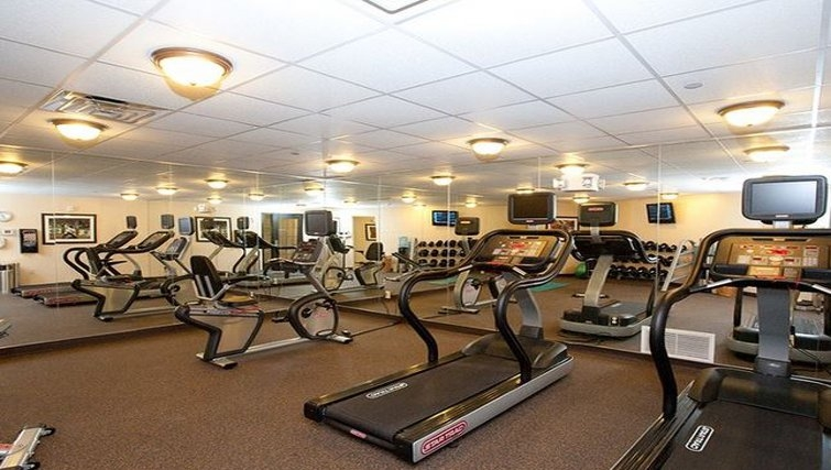State-of-the-art gym in Staybridge Suites Fort Worth West