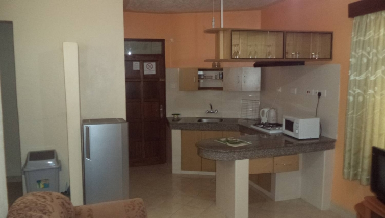 Practical kitchen in Mei Place Apartments