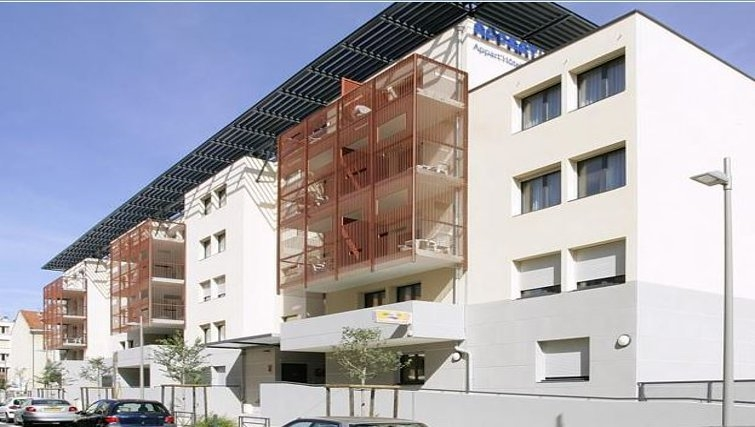 Inviting exterior of Appart City Montelimar