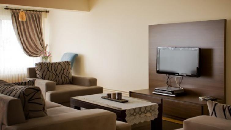 Delightful living area in Sabri Alanyali Residence